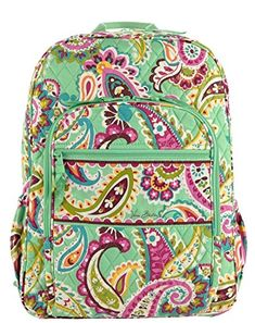 c1609381cd2d Vera Bradley Campus Backpack Tutti Frutti Review Vera Bradley Laptop  Backpack