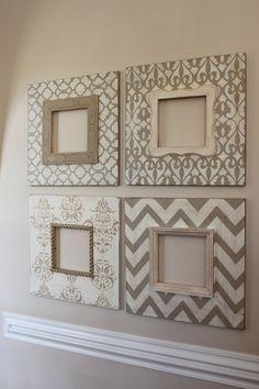 DIY: frames