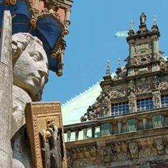 Rathaus und Roland in Bremen ©BTZ Bremer Touristik-Zentrale