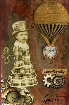 Steam Punks Old Photo Tinprints Steam Punk by AlteredArtifacts, $3.50
