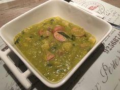 Recept voor makkelijke (zoutarme) erwtensoep.