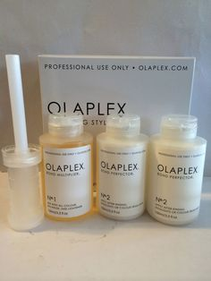 OLAPLEX TRAVELING STYLIST KIT - STEP 1 BOND MULTIPLIER & STEP 2 BOND PERFECTOR #OLAPLEX