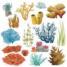 как нарисовать подводные растения: 6 тыс изображений найдено в Яндекс.Картинках