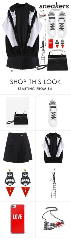 """""""So Fresh: White Sneakers"""" by paculi ❤ liked on Polyvore featuring Dolce&Gabbana and whitesneakers"""