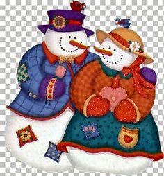 Sneeuwmannen en kransen / Snowmen | Jokealmere.jouwweb.nl