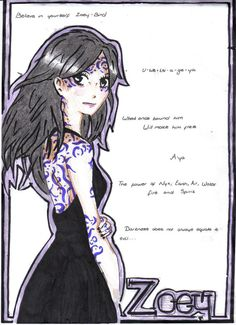 Zoey Redbird - House of Night