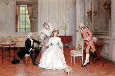 """The Welcome Visitor"" by Jules Girardet"