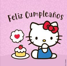 Hello Kitty Vans, Hello Kitty Birthday, Cat Birthday, Happy Birthday, Sanrio, Hello Kitty Imagenes, Hello Kitty Wallpaper, Kawaii, Little Twin Stars