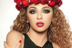 """#اليمن   """"صورة"""" ميريام فارس تثير غضب الشعب السعودي بصورة مستفزة"""