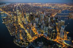 Prolific aerial photographer George Steinmetz has captured a series of breathtaking images of all five boroughs of New York City in his new book, New York Air: The View...