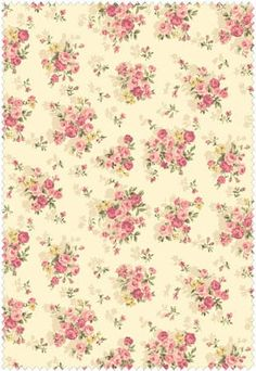 Mary Rose Grace Fabric Collection by Quilt Gate MR2140-14A Cream Small Roses