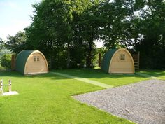Glamping Pods at And