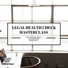WEBINAR TODAY // Join us today for our monthly live webinar with lawyer Fiona McCord.  Fiona is the founder of Base Legal offering affordable legal services for small businesses all over Australia.  WEDNESDAY 30th MARCH at 1pm (click the link in our profile to register)  We've asked around a few of our kin and pulled together a list of 10 legal questions for Fiona to talk through during the webinar that would be useful for creative entrepreneurs like you:  1. Are you structured right? The…