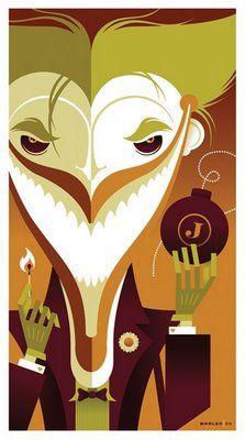 The Joker by Tom Whalen
