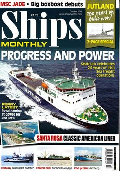 Ships Monthly (October 2016)