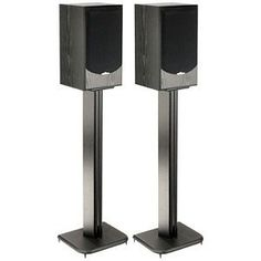 SANUS SYSTEMS BF-31B Wood Speaker Stands by Sanus. $49.99. SANUS SYSTEMS BF-31B Wood Speaker Stands features like ABS plastic spikes, a concealed wire path and neoprene speaker isolation pads, and a sound foundation for speakers.