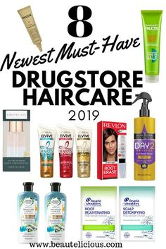 Check out 2019's coolest new hair care available in drugstores right now from an environmentally friendly shampoo and conditioner to an innovative in shower styler and a ton of other products in between. #drugstorehaircare #drugstore #drugstorehairproducts Drugstore Shampoo, Drugstore Makeup, Dry Shampoo, Shampoo And Conditioner, New Hair, Hair Milk, Hair Scalp, Freundlich, Clean Beauty