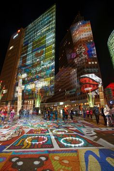 Potsdamer Platz, Festival of Lights, Berlin, Germany