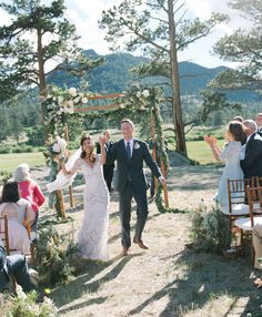 Watters Kerry gown. Location Scout – Rocky Mountain High | Hearts Aflutter by Flutter Magazine