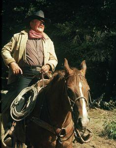 John Wayne in Rooster Cogburn (1975)