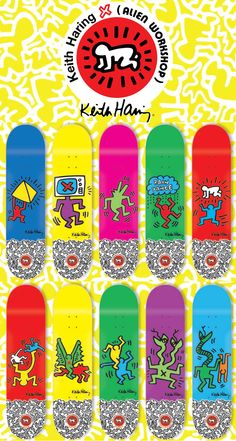 Alien Workshop x Keith Haring