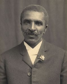 George Washington Carver (1864-1943) American scientist, botanist, educator, and inventor. He is credited with the invention of peanut butter. However, Carver did not patent peanut butter as he believed food products were all gifts from God.