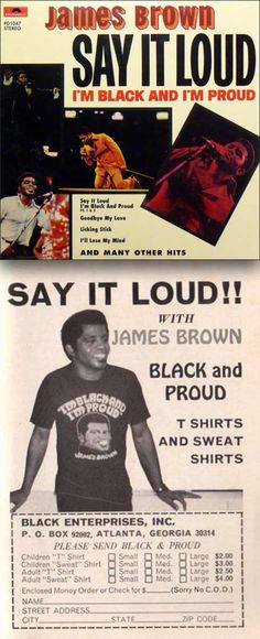 """James Brown """"Say It Loud – I'm Black and I'm Proud"""" (1968)"""