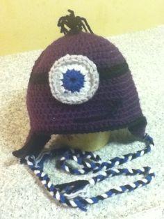 Purple minion- it's a gift.