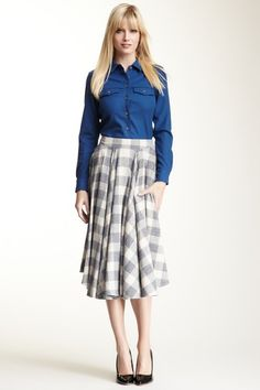 The Portland Collection by Pendleton  Semicircle Skirt    Cute - I'd love to try longer skirts