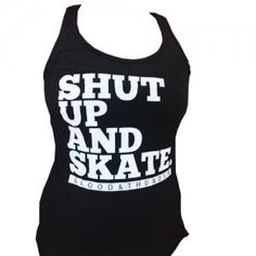 Blood & Thunder - Shut Up & Skate Women's Tank