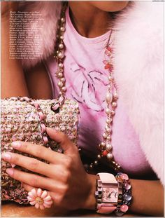 chanel. pink.