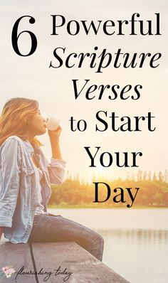 Do you have a hard time starting your day off in the Word? Whether you want to increase your faith or need strength for the day, these 6 encouraging scripture verses will help you to start your day off prepared to spend time with Jesus. Christian Women, Christian Living, Christian Faith, Christian Signs, Scripture Verses, Bible Scriptures, Morning Scripture, Powerful Scriptures, Healing Scriptures