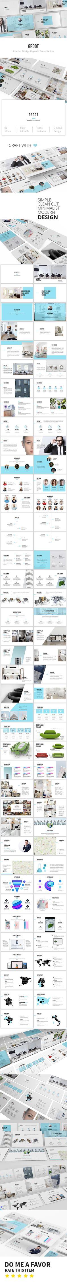 Groot - Interior Design Keynote Template