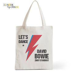 Sac Tote Bag Let's Dance  Ziggy Cadeau pour elle Cadeau