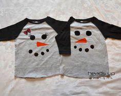 twin snowman shirts boygirl raglan toddler christmas tshirts raglan boy girl twins
