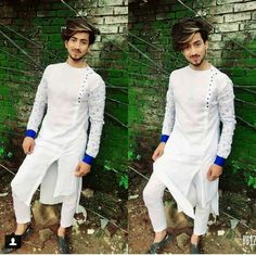 My hero 😎😎😎 Kurta Pajama Men, Kurta Men, Mens Sherwani, Wedding Kurta For Men, Wedding Dress Men, Indian Men Fashion, Mens Fashion Wear, Pathani Suit Men, Mens Shalwar Kameez