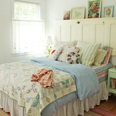 Cottage Industry - Portfolio - Decorating  cottage bedroom