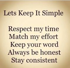 Simple ...