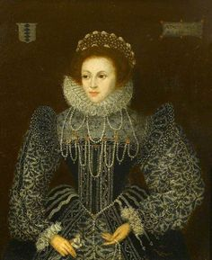 1570s Lady Mary Grey (1545–1578) by British (English) School Oil on panel, 29.2…