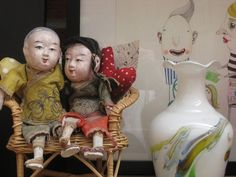 Chinese dolls.