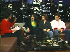 """Frank Zappa - Interview With """"The Zappas"""""""