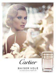 Toni Garrn for Cartier Baiser Vole Fragrance