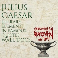 an examination of the play julius caesar by william shakespeare The life and death of julius caesar shakespeare homepage | julius caesar  julius here wast thou bay'd, brave hart  o julius caesar, thou art mighty yet .