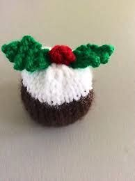 Mr Pudding chocolate cover fits Christmas Ferrero Rocher KNITTING PATTERN