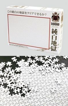 1000 pieces of white (Chinese Torture Device)