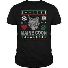 Ugly Maine Coon Christmas Design