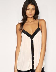 Button Front Camisole - ASOS
