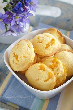 Biscotti cuor di mela - Apple Jam Filled Cookies   From Zonzolando.com