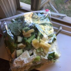 Freeze ahead Green Smoothies