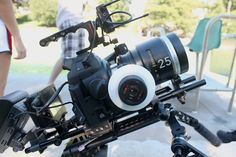 Canon C100 on Genus Sherpa Rig with Schneider Optics Cine Xenar III Prime #C100 #Canon — at Texas Media Systems.